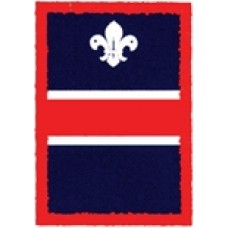 Red Patrol Badge